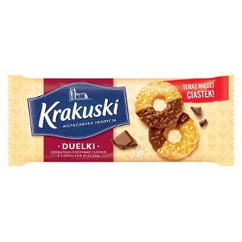 Ciastka Krakuski Duelki 181g