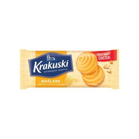 Ciastka Krakuski Maślane 201g
