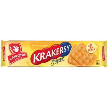 Krakersy Lajkonik Super 180g