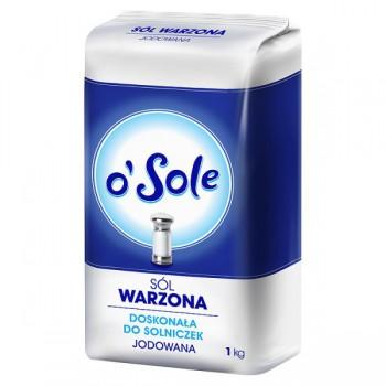 Sól Warzona Jodowana 1kg Cenos