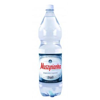 Woda Muszynianka 1,5L GAZ