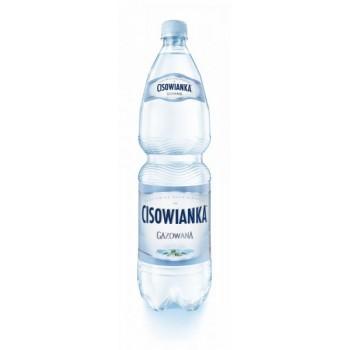Woda Cisowianka 1,5L GAZ