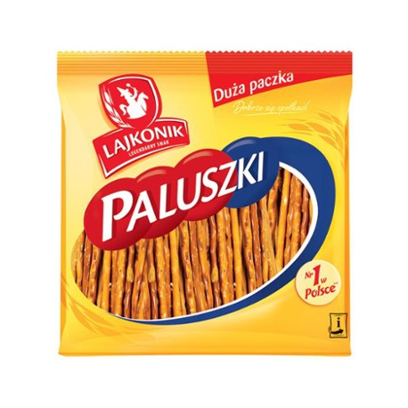 Paluszki Lajkonik 300g Solone