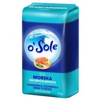 Sól Morska 1kg Cenos