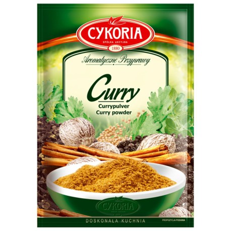 Curry 25g Cykoria