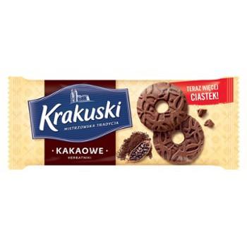 Ciastka Krakuski Kakaowe 163g