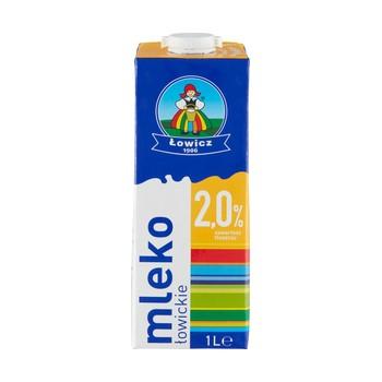 Mleko Łowickie UHT 2% 1L