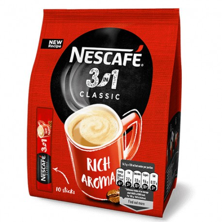 Nescafe 3w1 10szt 18g Kawa Rozpuszczalna