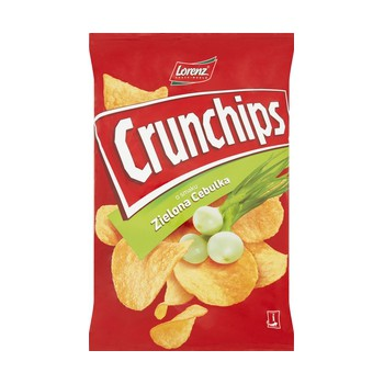 Crunchips Zielona Cebulka 140g