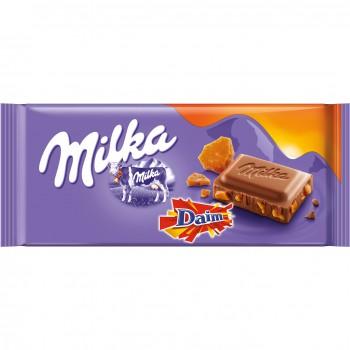 Milka 100g Daim Czekolada