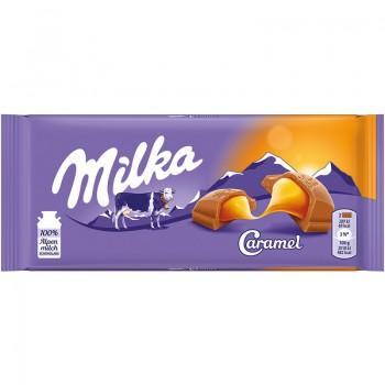Milka 90g Caramel Czekolada