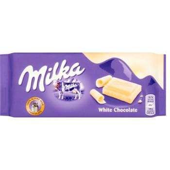 Milka 100g Biała Czekolada