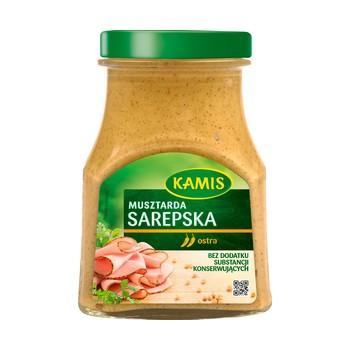 Musztarda Sarepska 185g Kamis