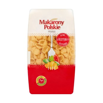 Makarony Polskie Muszelki 400g