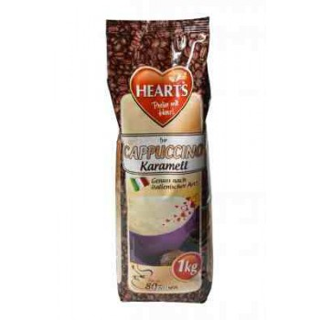 Hearts 1kg Cappucino Karmell