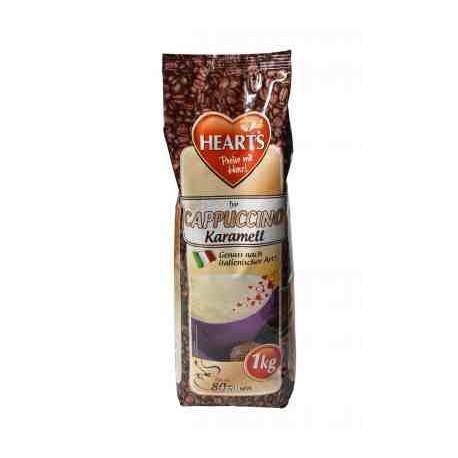 Hearts 1kg Cappucino Karmell