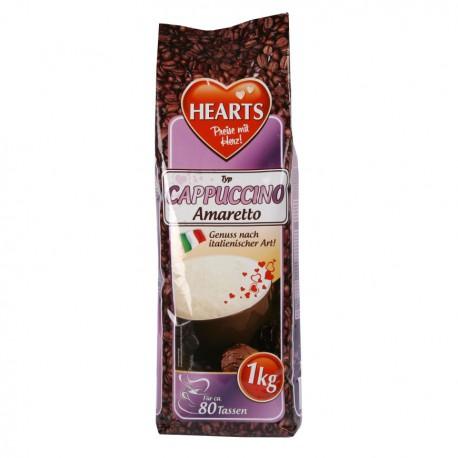 Hearts 1kg Cappucino Amaretto