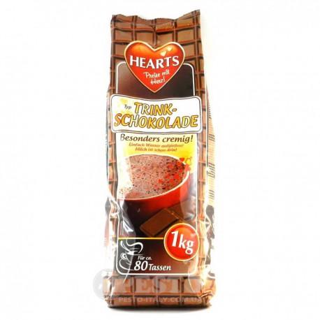 Hearts 1kg Cappucino Trink Chocolate