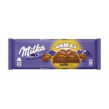 Milka 250g Bubbly Caramel...
