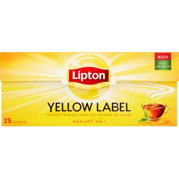 Lipton Yellow Label 25 tor....
